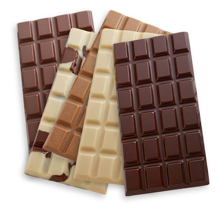 شکلات تخته ای رنگی