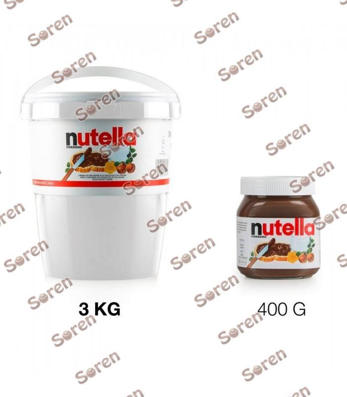 شکلات نوتلا سطلی