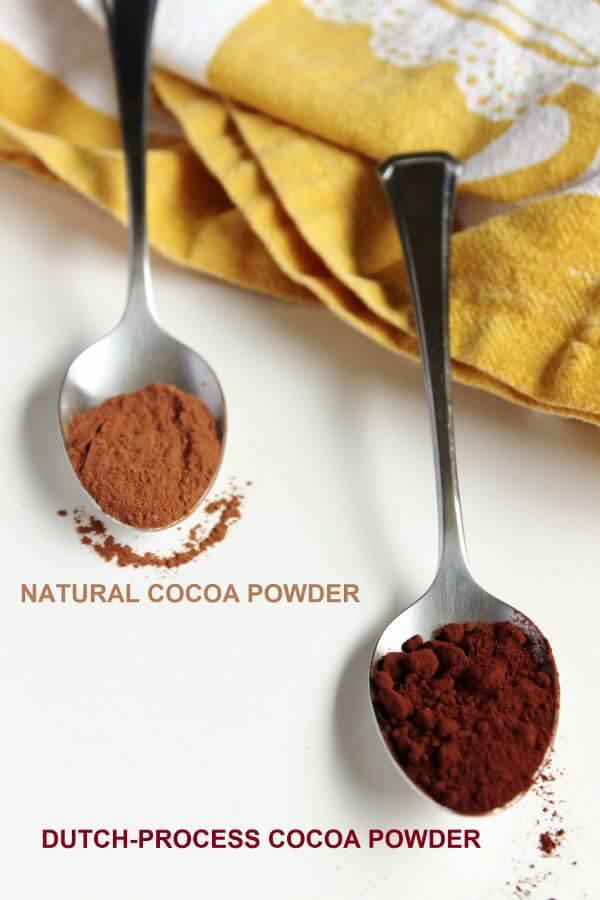 تفاوت های میان پودر کاکائو قلیایی شده تیره با طبیعی