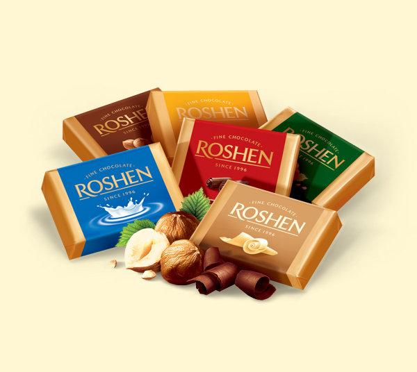 فروش شکلات روشن Roshen کارتونی