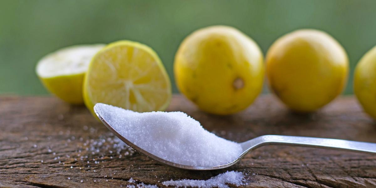 مهمترین کاربردهای اسید سیتریک