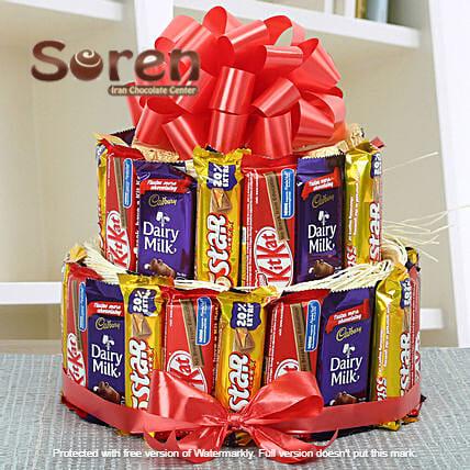 خرید شکلات خارجی اصل   ویفر خارجی