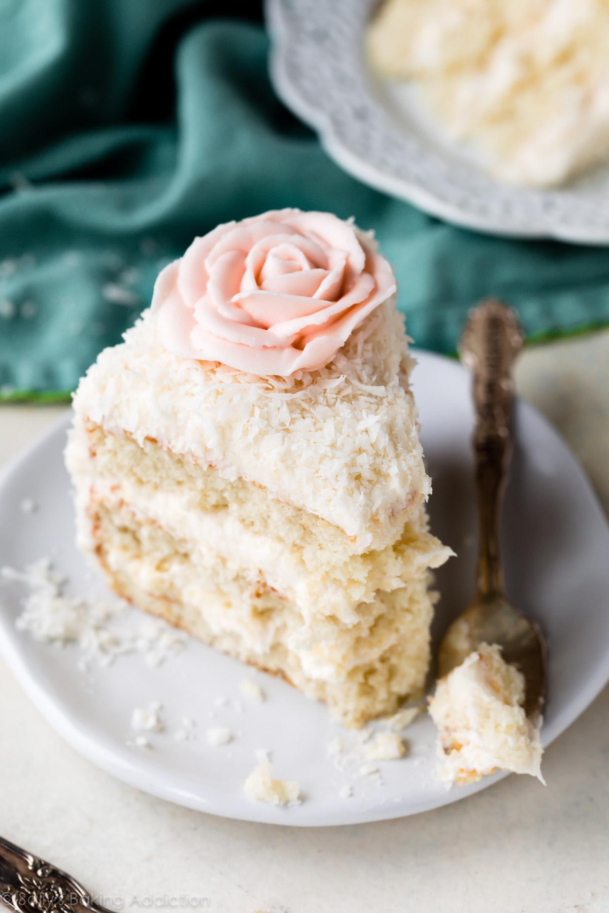 بهترین پودر نارگیل برای تزیین کیک (coconut powder)